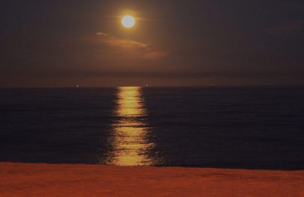 LLUNA AL PLE. Lluna vella de desembre