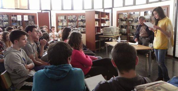 SANT JORDI A L'INSTITUT MANUEL SALES I FERRÉ (ULLDECONA)