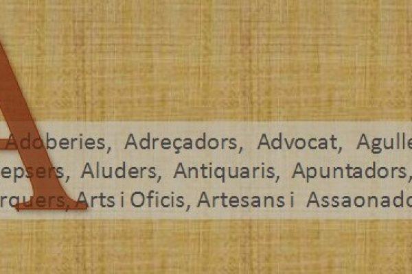 CARRERS (22) D'OFICIS 'A' (3)