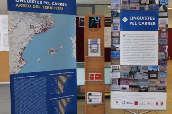 LINGÜISTES PEL CARRER, A CASTELLÓ.   UNIVERSITAT JAUME I