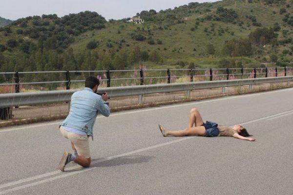 FOTÒGRAFS FOTOGRAFIATS  A ZAHARA DE LA SIERRA (dues històries)