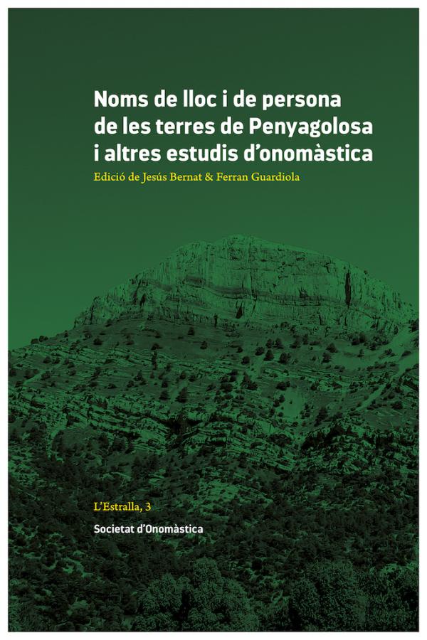 EL LLIBRE DE LA JORNADA D'ONOMÀSTICA       DE LES TERRES DE PENYAGOLOSA.