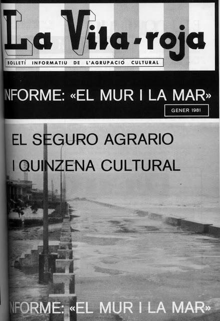 LA MAR QUE TENIA MARGES (5) A La Vila-roja de 1981
