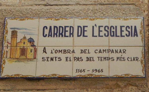 Carrer i església (1) Abadessa – cartoixa (carrers 35)