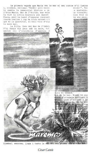 """César Canós. Il·lustració del conte """"Maremar"""""""