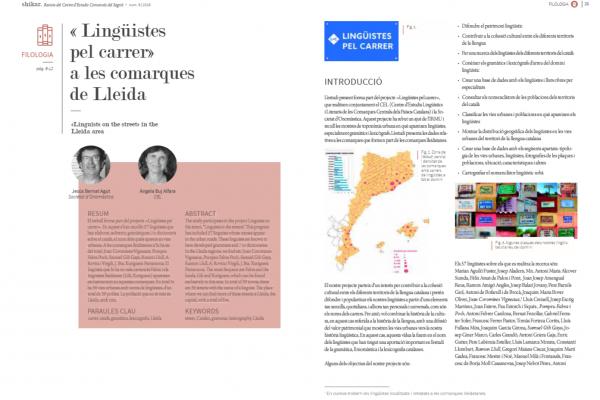 Lingüistes pel carrer a les comarques de Lleida. Shikar 6