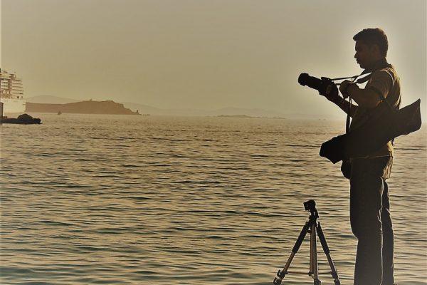 FOTÒGRAFS FOTOGRAFIATS (10) A LA MEDITERRÀNIA (1)