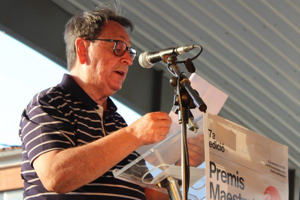 Lluís Gimeno. Premi Carles Salvador 2020