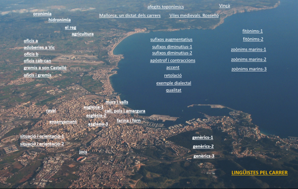 La toponímia urbana, un dictat de la cultura